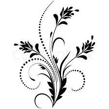 decorative ornament stock vector colourbox
