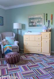 Gender Neutral Bedroom - colorful gender neutral nursery full of diy hometalk