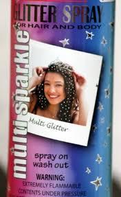 amazon spray wash sparkle multi sparkle glitter hair