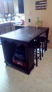 Sturdy Kitchen Table by Quovis Standing Height Table