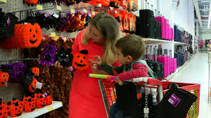 halloween shopping sofia bulgaria 15 september 2016 happy family shopping at the