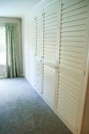 Shutter Doors For Closet Closet Shutter Style Doors Plantation Amazing And Also 19