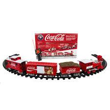 lionel trains coca cola g gauge ready to run set walmart com
