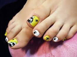 nail designs for your toes gallery for gt floral toe nail