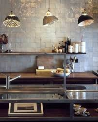 Industrial Kitchen Backsplash by Moroccan Tiles For Kitchen Backsplash This Industrial Kitchen