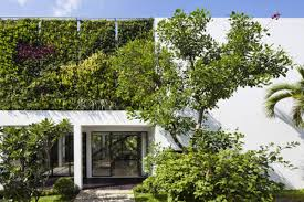 Home Vertical Garden by Four Houses Proving That Vietnam Is A Vertical Garden Hub Curbed