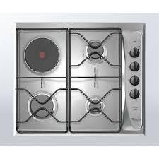 cuisiner au gaz ou à l électricité plaque de cuisson électrique et gaz à référence sur la décoration