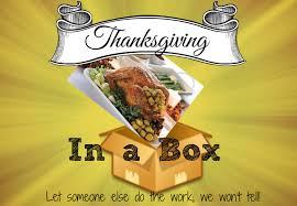 thanksgiving dinner in a box make your simple lake