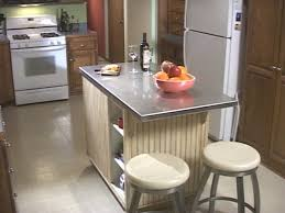 stainless steel kitchen island with seating 8 diy kitchen islands for every budget and ability blissfully