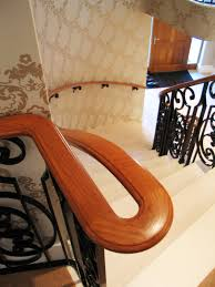 Curved Complex Timber Handrails For Bespoke Staircases