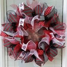 ohio state ribbon osu wreath ohio state wreath ohio state buckeyes wreath ohio