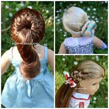 american doll disney frozen elsa hairstyle inspired by
