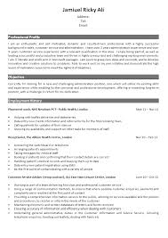 Receptionist Resume Templates Front Desk Receptionist Resume Examples Resume Templates Gym