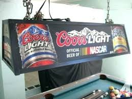budweiser pool table light with horses vintage budweiser pool table light faspro info