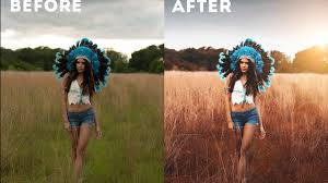 Outdoor Photoshop Cc Tutorial Outdoor Portrait Editing Youtube