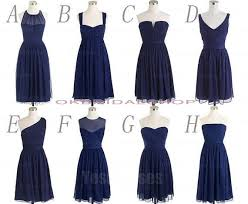 navy blue bridesmaids dresses blue bridesmaid dresses bridesmaid dresses knee length