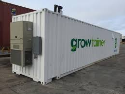 Shipping Container Grow Room Design