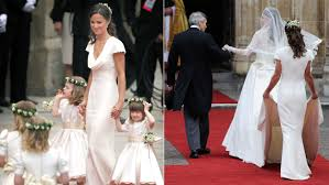 Middleton Pippa Pippa Middleton Royal Wedding Dress U0027fitted A Little Too Today Com