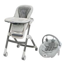 Graco Doll Swing High Chair Graco Sous Chef 5 In 1 Seating System High Chair Davis Babies