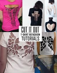 different ways to cut the ends of your hair learn tons of different ways to cut up your t shirts and make cool