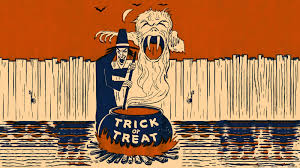 neato coolville halloween wallpaper witch u0027s brew of trick or treat