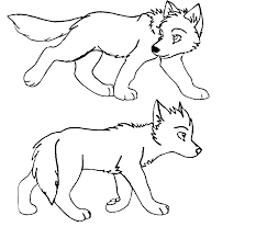 12 pics wolf puppy coloring pages wolf pup coloring pages