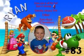super mario bros birthday invitations dolanpedia invitations ideas