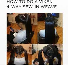 best way to sew in a weave for long hair 20 vixen sew in weave installs we are totally feeling on pinterest