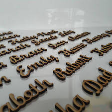 mdf letters plaques u0026 signs ebay