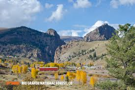 Colorado National Forest Map by Rio Grande National Forest Outthere Colorado