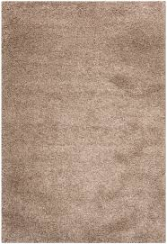 soft taupe shag rug california shag collection safavieh