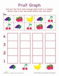 cut out graph vegetables worksheets vegetables and kindergarten