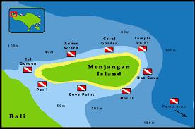 Bali Indonesia Map Diving Menjangan Island Bali Indonesia Reefdivers Io