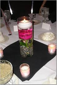 Wedding Centerpieces Floating Candles And Flowers by Silk Flower Underwater With Floating Candle Wedding Ideas