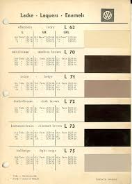 volkswagen paint chips and mixing formulas