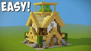 minecraft 11x11 starter house tutorial how to build a house in