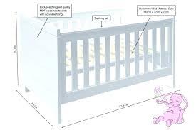 Crib Mattress Dimensions Standard Crib Mattress Size Cool Crib Dimensions Standard Crib
