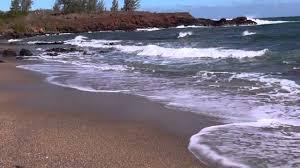 glass beach kauai hawaii youtube