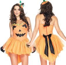 Pumpkin Costume Halloween Wholesale Pumpkin Halloween Costume Dress Adults