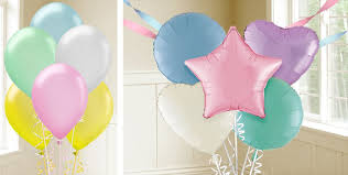 Party City Balloons For Baby Shower - pastel balloons party city