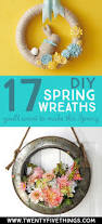 17 diy spring wreath ideas you u0027ll want to make today twentyfive