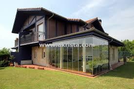 porches acristalados porche acristalado con cortinas de cristal porches acristalados