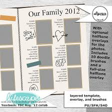 class yearbook yearbook class of tdc digital scrapbook kit