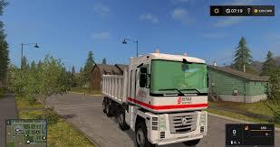 renault truck magnum renault magnum 8x8 eiffage mod for farming simulator 2017 renault