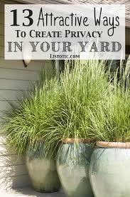 Yard Patio 13 Attractive Ways To Add Privacy To Your Yard U0026 Deck With Pictures