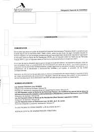letter from the spanish tax office regarding income and wealth tax