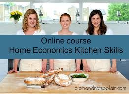 home economics lesson plans plain and not so plain