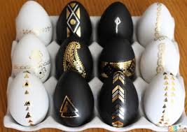 decorative eggs easter diy tattooed cascarones and decorative chalkboard eggs