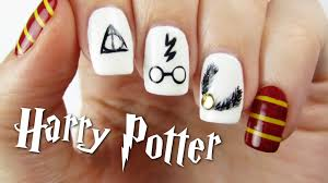 harry potter nail art design youtube