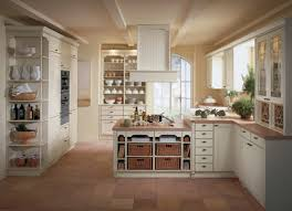 attractive shaker kitchen style with white color wooden kitchen